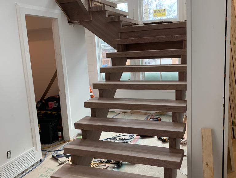 Beautifully Minimalistic Interior Stairs