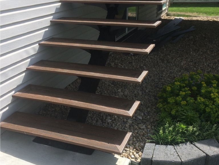 Modern Exterior Stairs