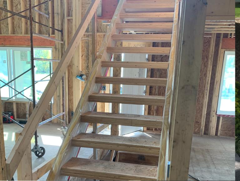 Interior Stair Build