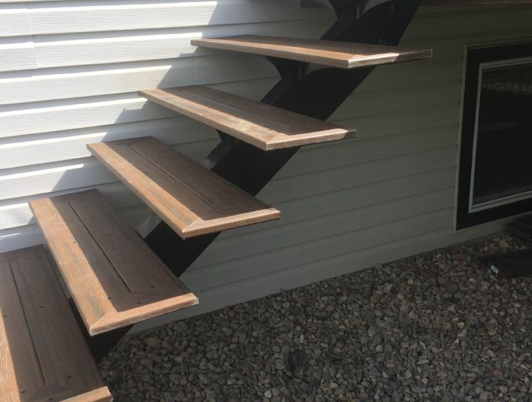 Sleek, Modern Exterior Stairs