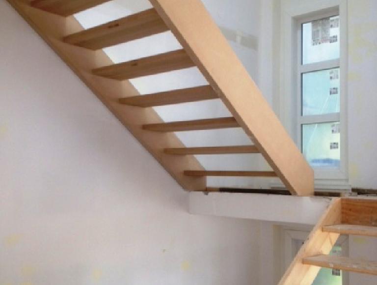 Custom Modern Interior Stairs