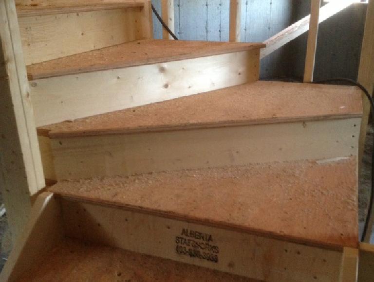 Custom Stair Winder