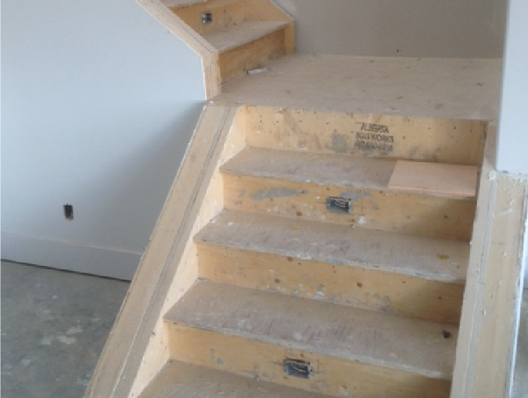 Interior Stair Landing